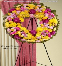 Wreath Of Kinship Funeral Sympathy Wreaths