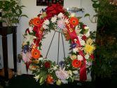 Wreath Of Memories Sympathy