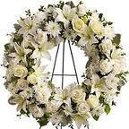 SS 24-Wreath of mixed flowers Also available in other colors and sizes