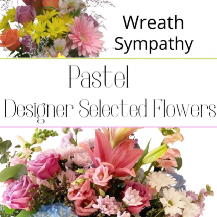 Wreath Pastel
