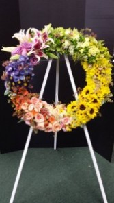 Wreath Sympathy arrangement