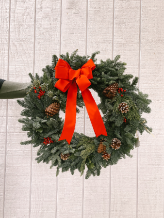 Wreath With Stand For Graveside