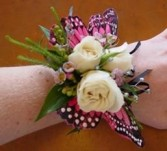 Butterfly Wrist Corsage