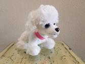 Wuffles Stuffed Poodle