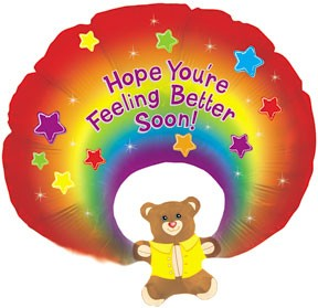 X-Large Mylar Get Well Balloon  in Mount Pearl, NL | MOUNT PEARL FLORIST