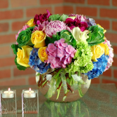 Beautiful Bright Surprises Hollands Bright Mixed Florals