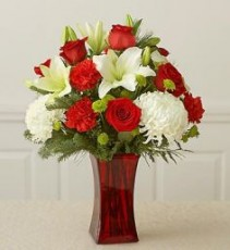 X-Mas bouquet arrangement
