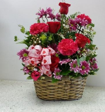 XOXO Basket  Valentine's Day