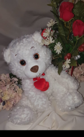 XOXO Bear Stuffed animal available as add on only