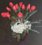 My favorite coral roses Fresh flowers