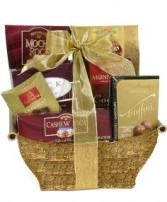 Chocolate Lovers Basket from Whisconier Florist