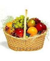 Fresh Fruit Basket from Whisconier Florist