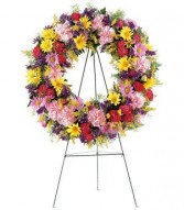 TELEFLORA'S ETERNITY WREATH Funeral Spray