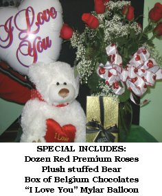 DIXIELAND'S VALENTINE DAY SPECIAL  in Bedford, NH | DIXIELAND FLORIST & GIFT SHOP INC.