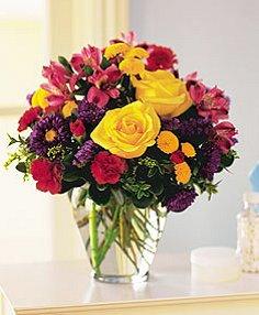 BRIGHTEN YOUR DAY Flower Arrangement