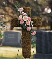 PINK BOUQUET CROSS Item # TF198-2