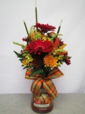 Yankee Candle Arrangement for Fall Local Delivery Only