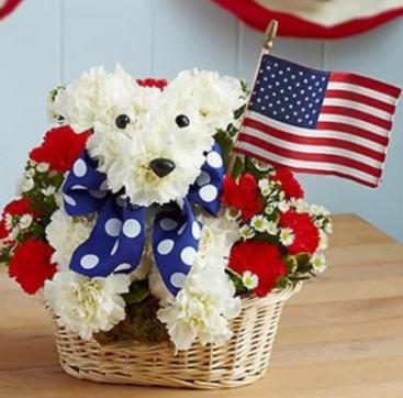 Yankee Doodle Doggie™ Arrangement