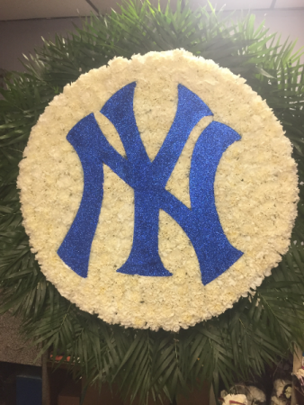 Yankees Flowers FUNERALS