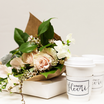 YEAR OF JOY Monthly Subscription for Flowers, Coffee and Pastry