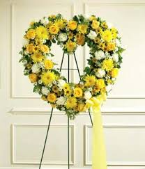 YELLOW AND WHITE OPEN HEART WAS $225/NOW $175.00