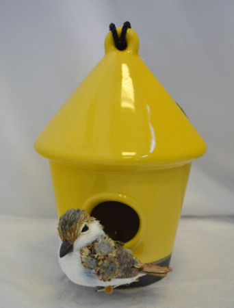 YELLOW BIRD HOUSE GIFT
