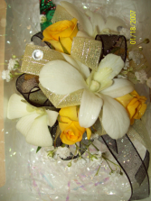 Yellow Delight Prom Corsage