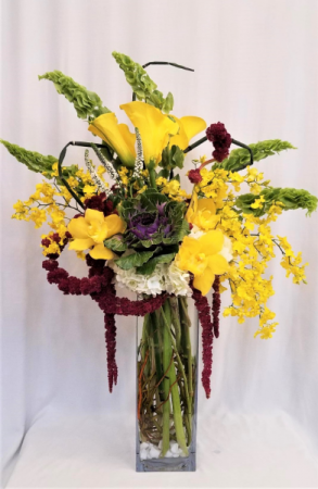 Yellow Elegance Arrangement