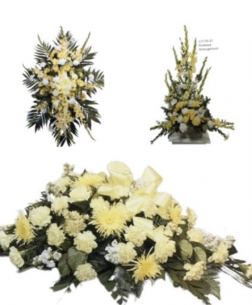 Yellow Funeral Funeral Package