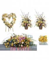 Yellow funeral Premium 2 Package