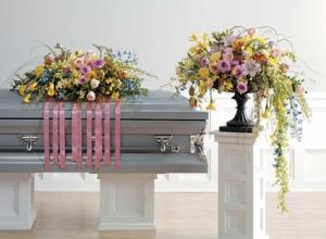 Yellow garden Funeral flower in Las Vegas, NV | AN OCTOPUS'S GARDEN