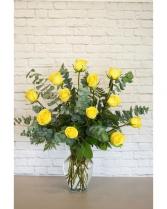 Yellow Love Roses