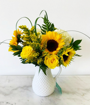 Yellow Mellow  Medium in Tamarac, FL   Yosvi Flowers