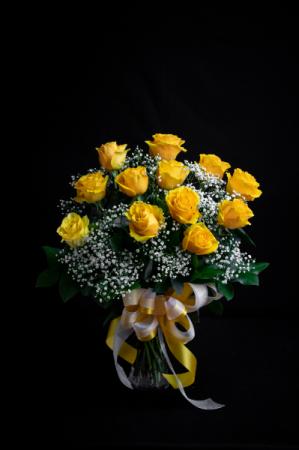 (ON SALE) Yellow Rose a Dozen