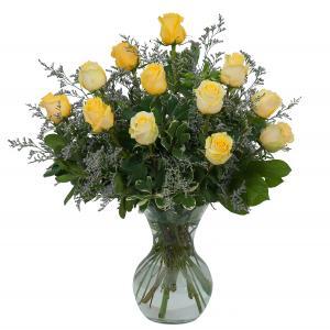Yellow Rose Beauty Arrangement in Kannapolis, NC | MIDWAY FLORIST OF KANNAPOLIS