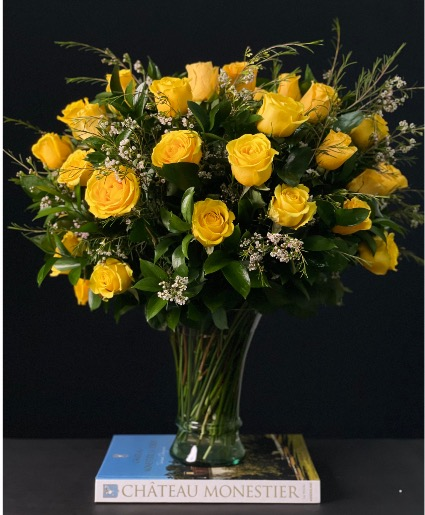 36 Yellow Rose