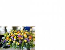 Yellow rose Casketpiece