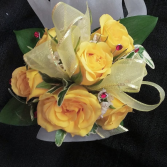 Yellow Rose Corsage Corsage