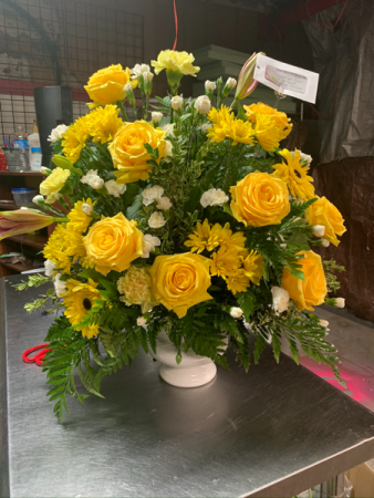 Yellow rose  Sympathy