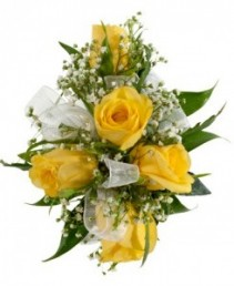 Yellow Roses We can use different color flower, ribbon , etc.
