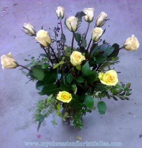 Yellow roses by My Obsession, MO-44 Fresh floral