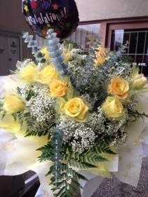 Yellow Roses Hong Kong style