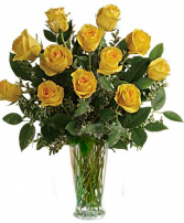 Yellow Roses One dozen, two dozen, three dozen pink roses