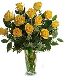 Yellow Roses One dozen, two dozen, three dozen pink roses