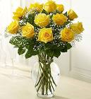 Yellow Roses Rose Arrangement