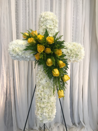 Yellow Sparks  Cross