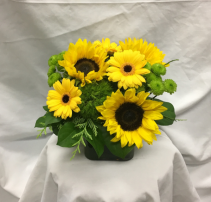 Yellow Sunshine Fresh Floral Design