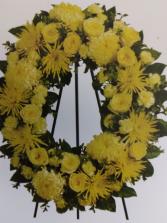 yellow wreaths # 3 rosas