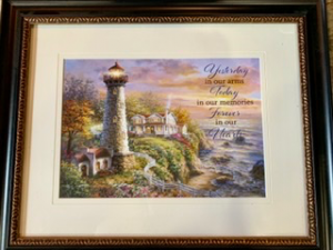 Yesterday in our arms framed wall picture  in Fairburn, GA | SHAMROCK FLORIST