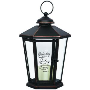 Yesterday, today & forever. Antique lighted Bronze lantern in Plum, PA | FOREVER GREENE FLOWERS INC.